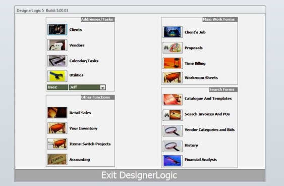 Top interior design project management software part i for Software per interior design
